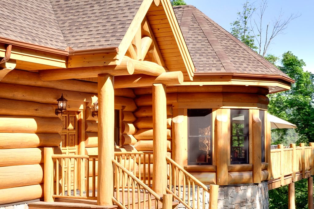 Log homes and timber frame portfolio  Harkinsca