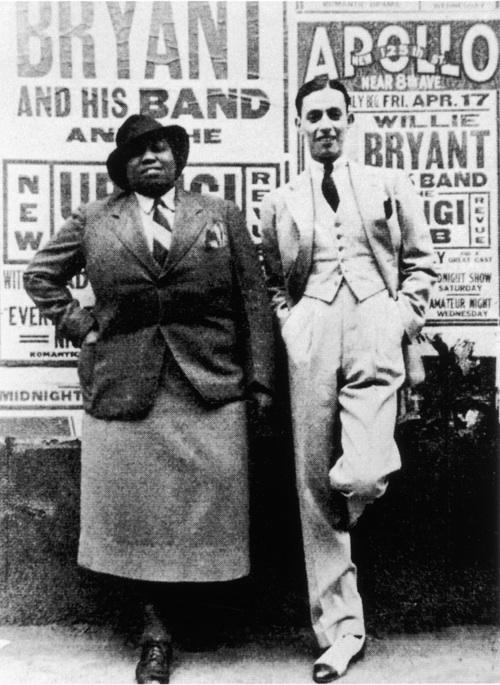 Bentley & Bryant Outside The Apollo