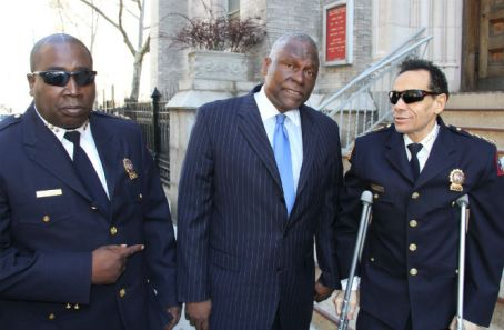 Cap Ben 5 Star Security assemblymen Keith Wright Chief Salih of 5 Star Security