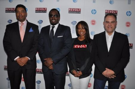 Keith Clinkscales, Diddy, Val Boreland, Andy Schuon_Photo Credit_Stephen Knight