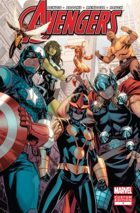 BBDO New York Avengers Comic Book