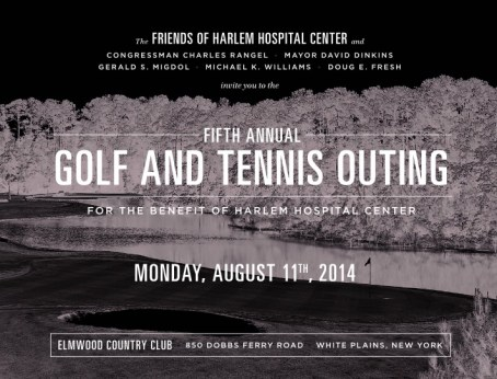 harlem golf and tennis outing
