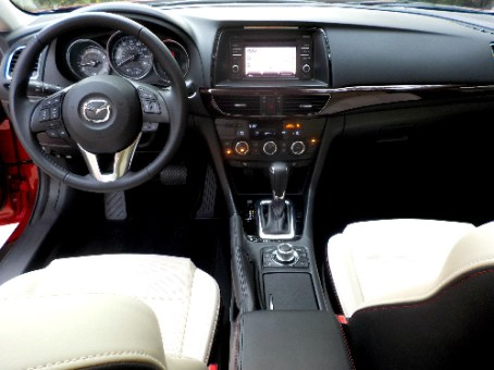 2015 Mazda6 (interior)