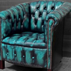 Turquoise Chairs Leather Saloon Chair Price Modern Chesterfield New Leathers Yellow