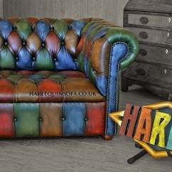 Oxblood Red Chesterfield Sofa American Leather Sleeper Disembly Patchwork Harlequin Button Seat