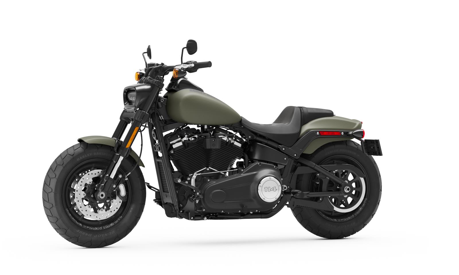 2021 fat bob motorcycle harley