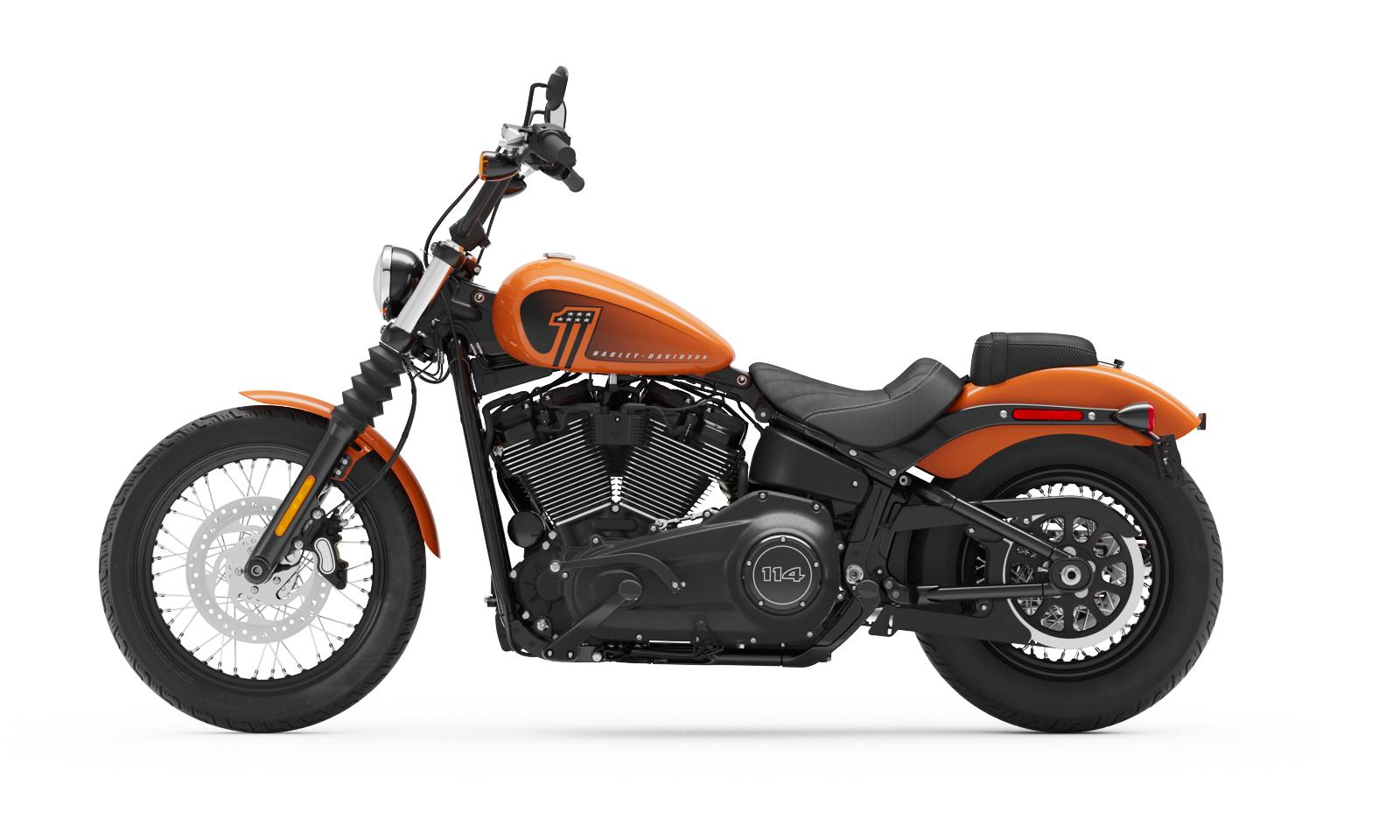 2021 street bob motorcycle harley