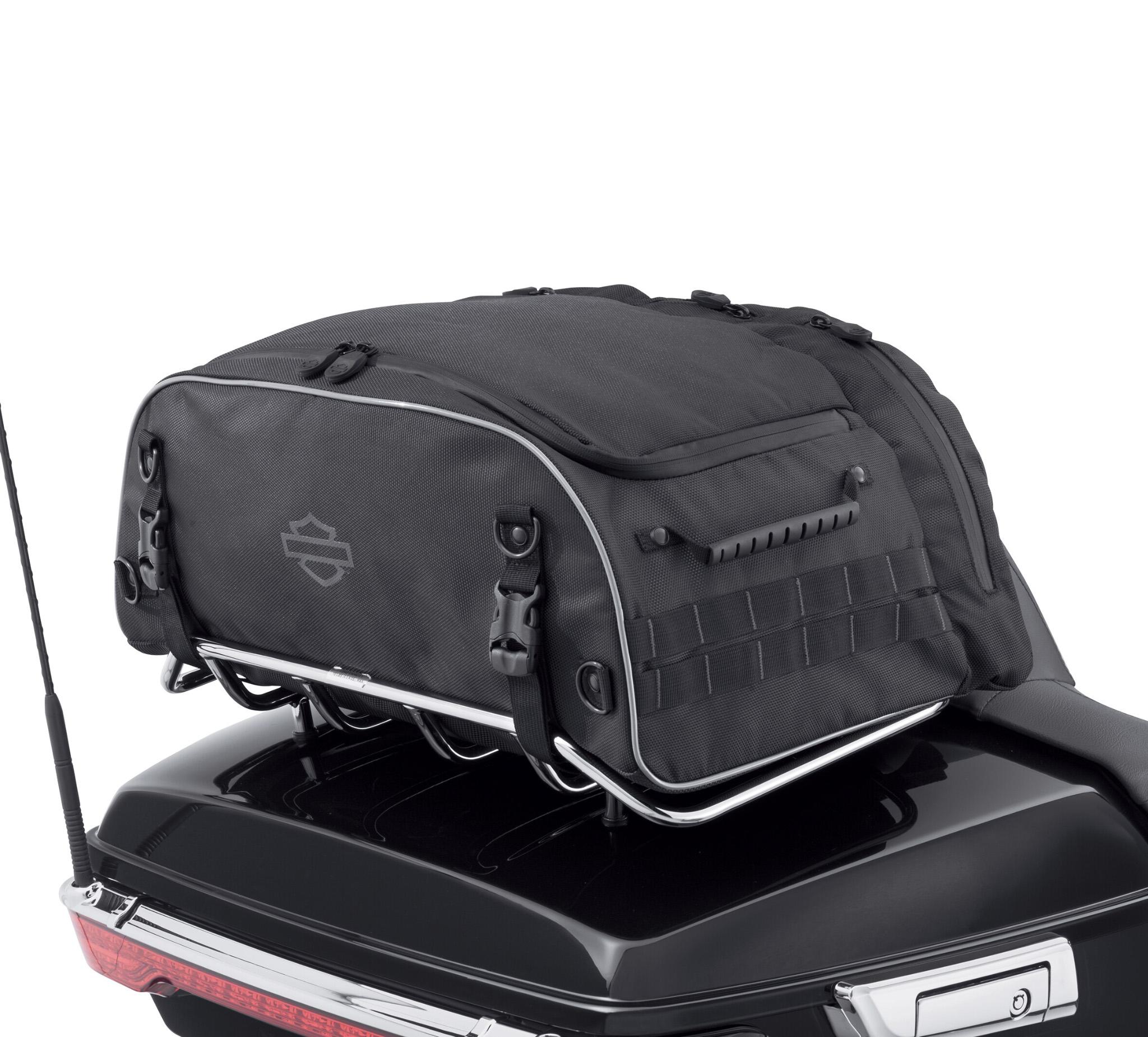 onyx premium luggage collapsible tour pak rack bag