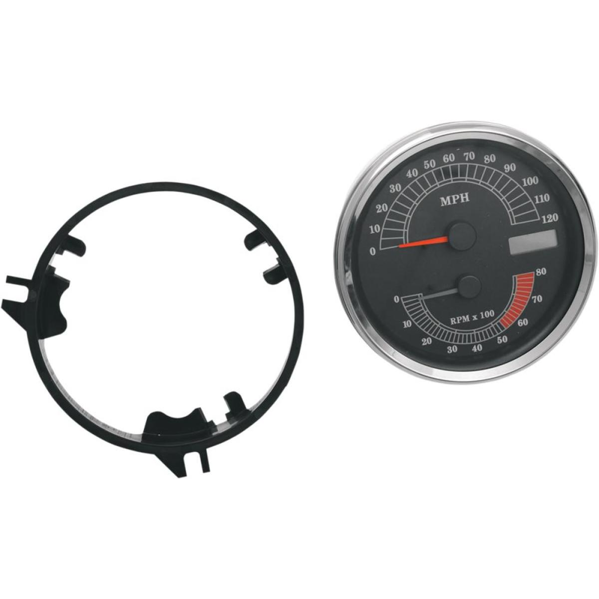 sunpro drag n tach wiring diagram ba falcon stereo specialties speed tachometer 5 inch 120mph 8000rpm