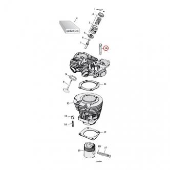 Cylinder & Heads For Harley Davidson Sportster