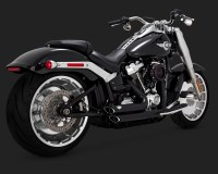 Vance & Hines Shortshots Staggered Exhaust In Black for ...
