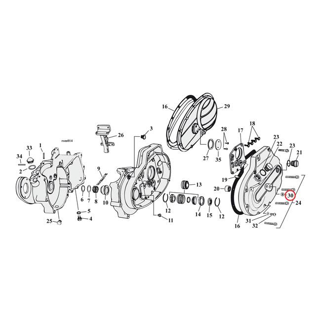 Transmission Gaskets & Seals For Harley Davidson