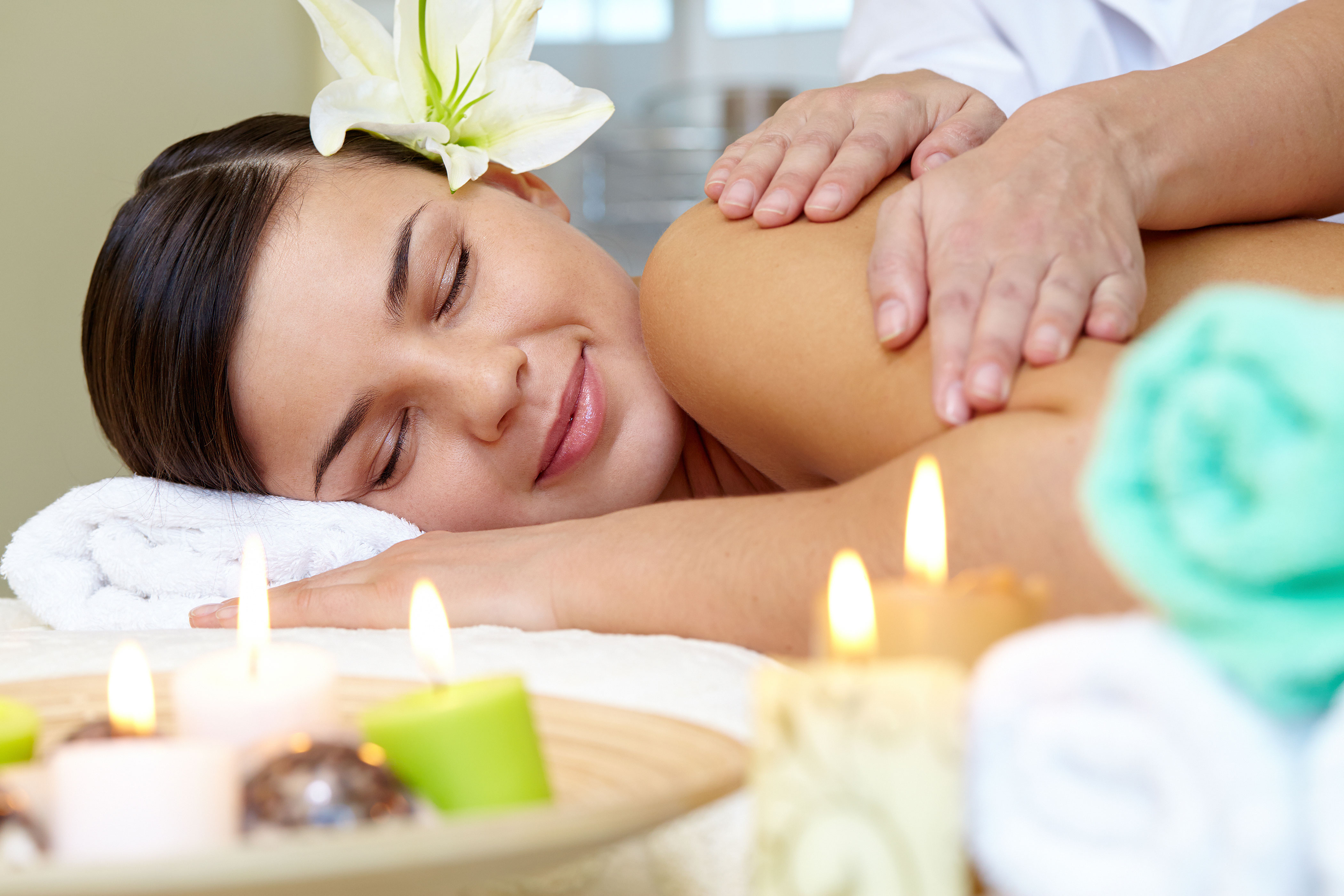 Massage with Harmonia Therapies