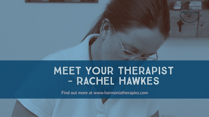 Rachel Hawkes Founder of Harmonia Therapies