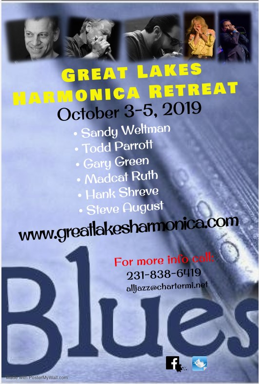 Great Lakes Harmonica Retreat 2019!