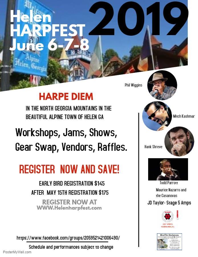 Helen Harmonica Fest