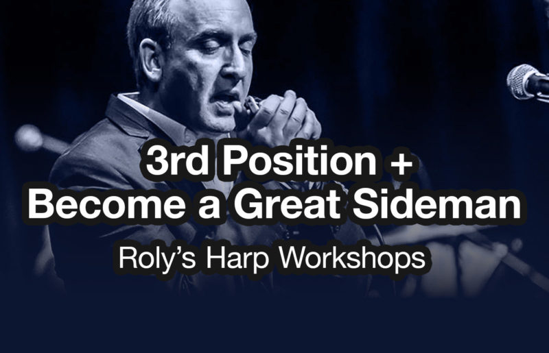 Workshop: 3rd Position & Becoming a Great Sideman