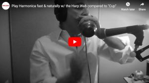 play harmonica fast