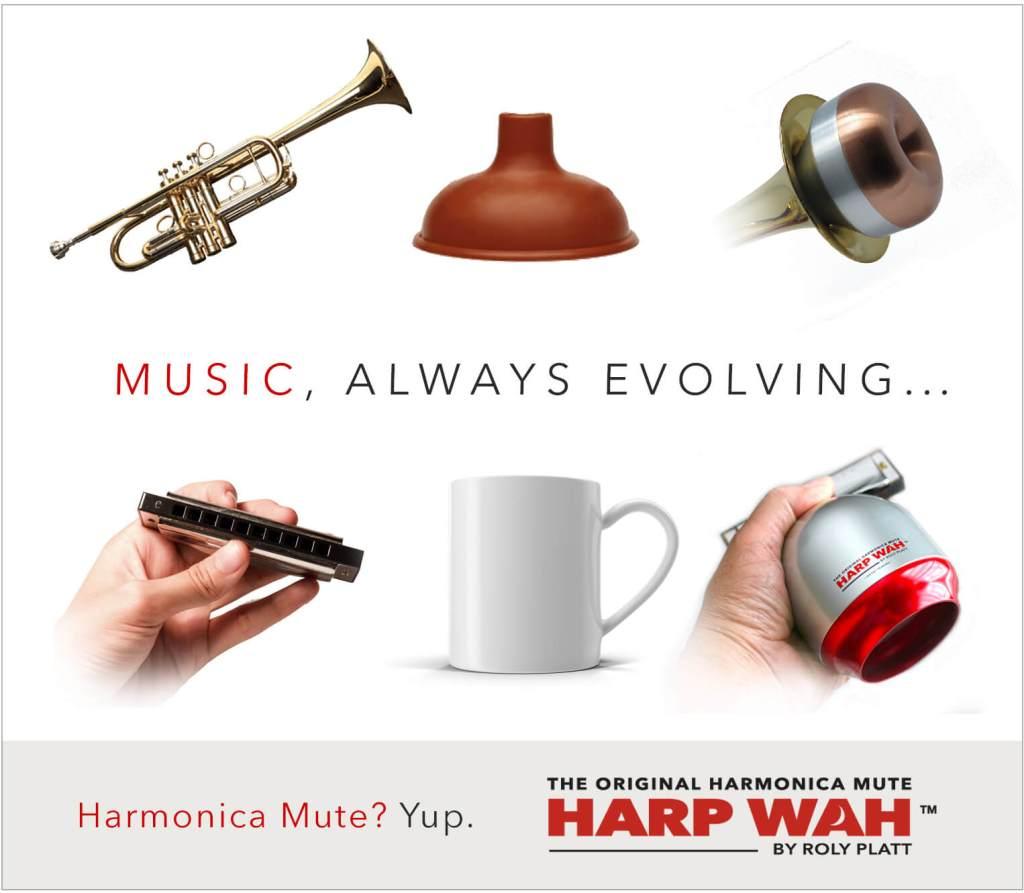 harmonica mute evolution new gear