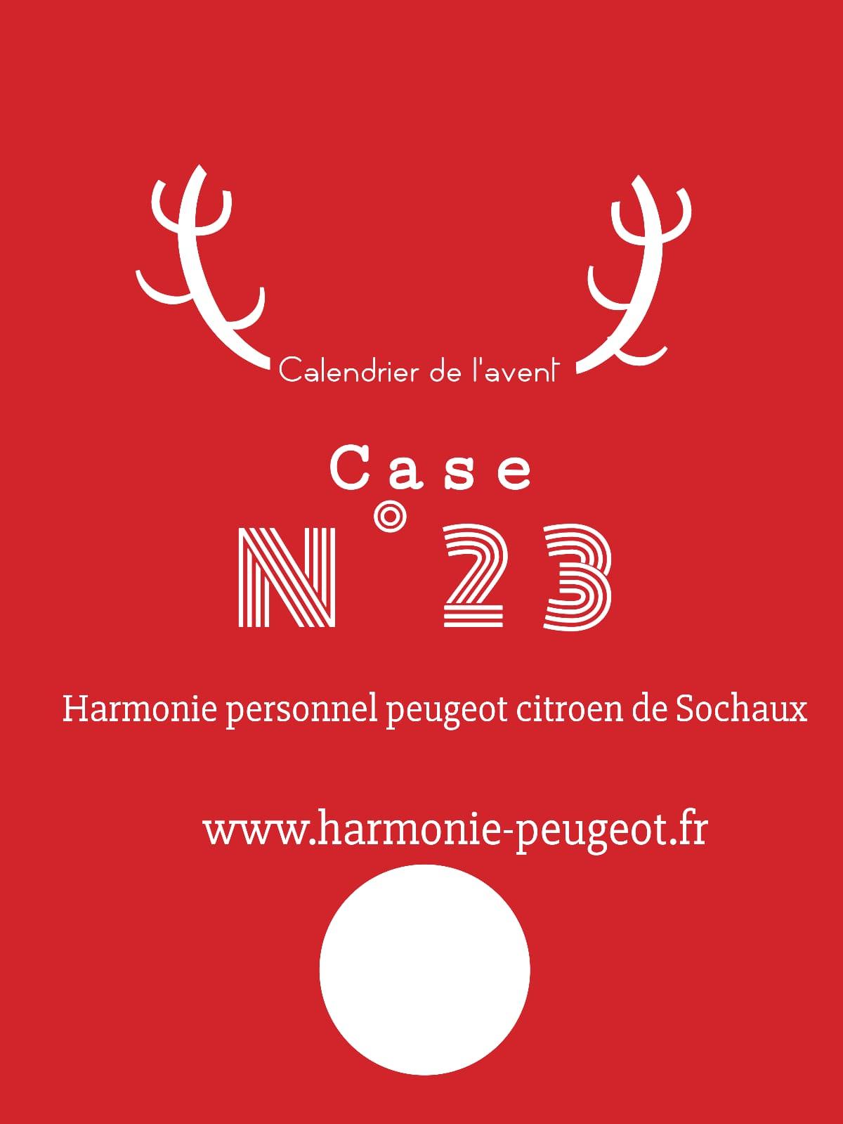 Case N°23 – Calendrier de l'Avent 2020