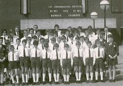 1972 Doetinchem -Gaanderen, groepsfoto