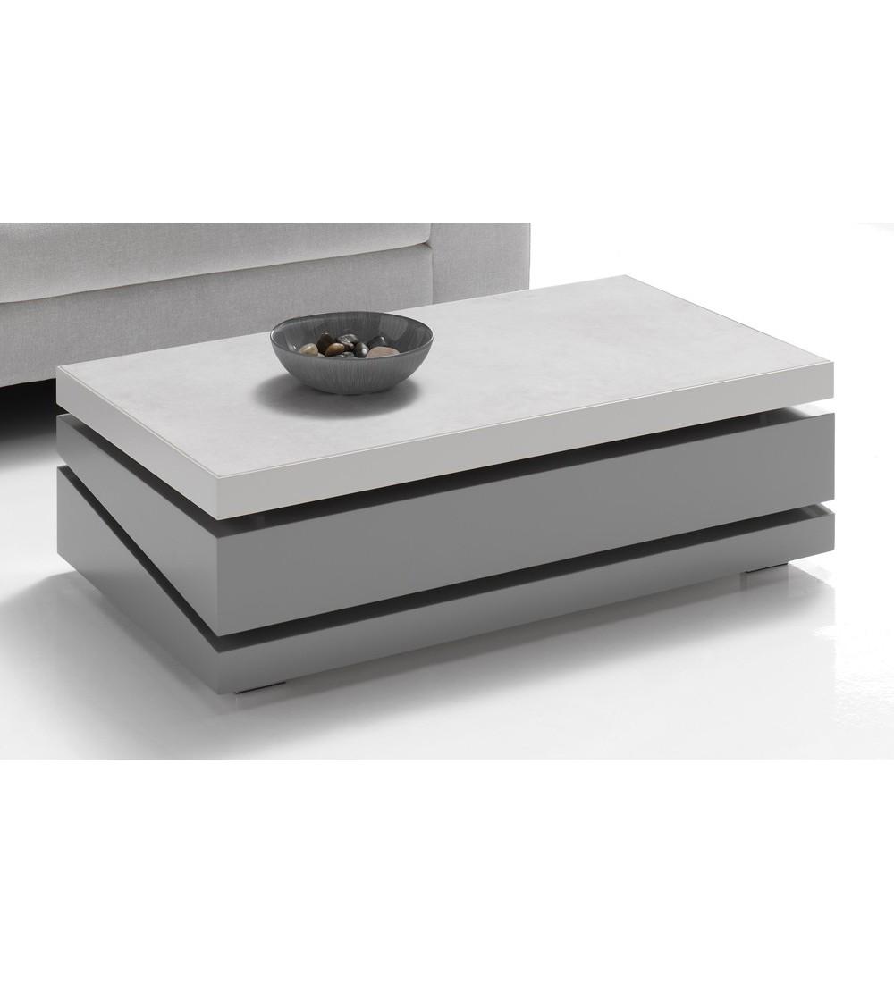 table basse dinette rectangulaire ref 276 en bois en laque en ceramique