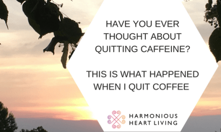 THIS IS WHAT HAPPENED WHEN I QUIT COFFEE