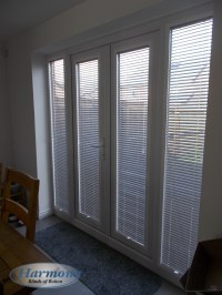 Perfect Fit Venetian Blinds in French Doors - Harmony ...