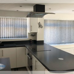Grey Kitchen Blinds Cabinet Planner Vertical In A New Harmony Bolton