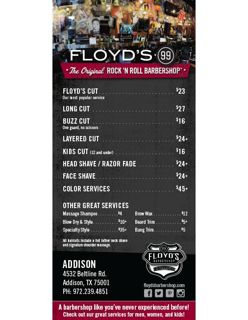 Floyds 99 Barbershop  Harmony Design