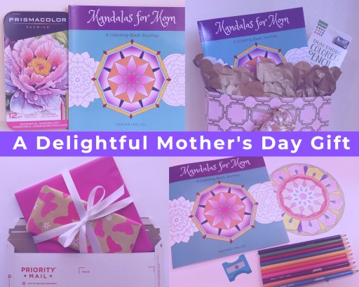 Adult Coloring Book - Mother's Day Gift