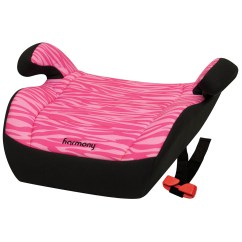 Harmony High Chair Recall Folding With Table Youth Booster Car Seat Pink Zebra