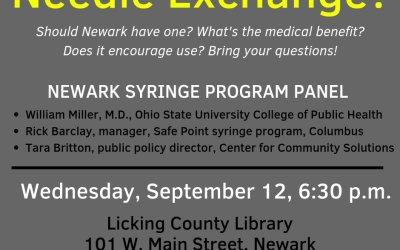 HRO sponsors syringe exchange education event in Newark