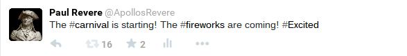 Paul Revere Twitter