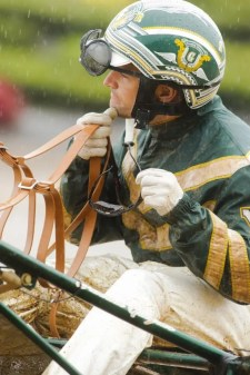 Yannick Gingras and the other drivers battled the elements all day   Dave Landry