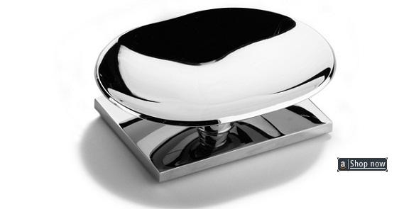 Soap dish wall mount