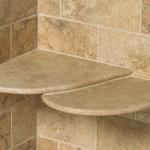Shower shelves corner