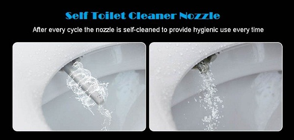 Self Toilet Cleaner
