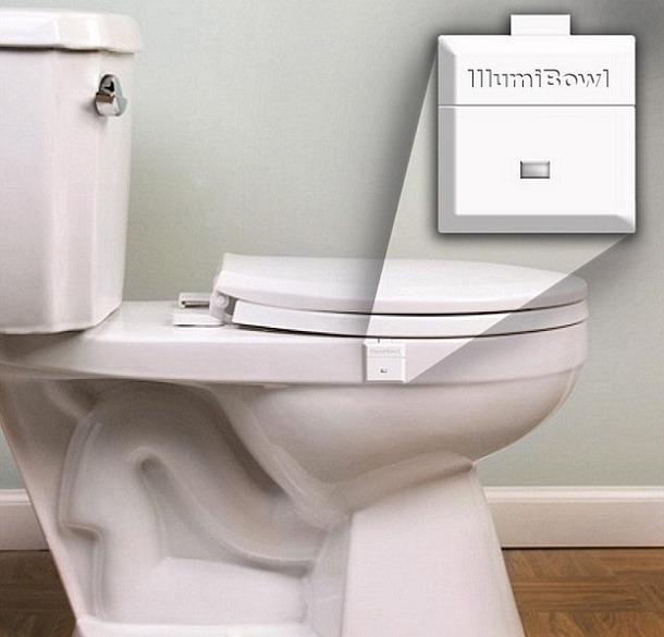 Top Toilet Bowl Light