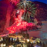 Year's Eve Fireworks, Taos,