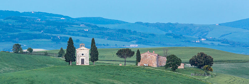 Val d'Orcia Church