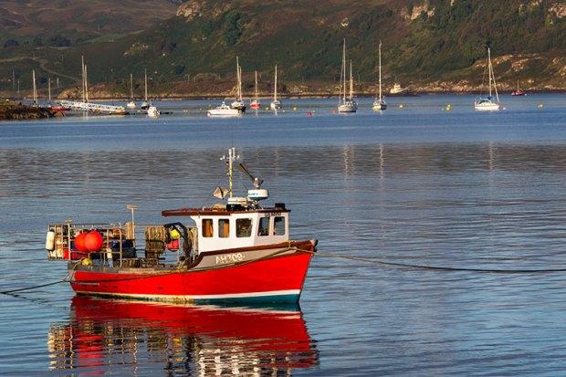 Oban Red Boat