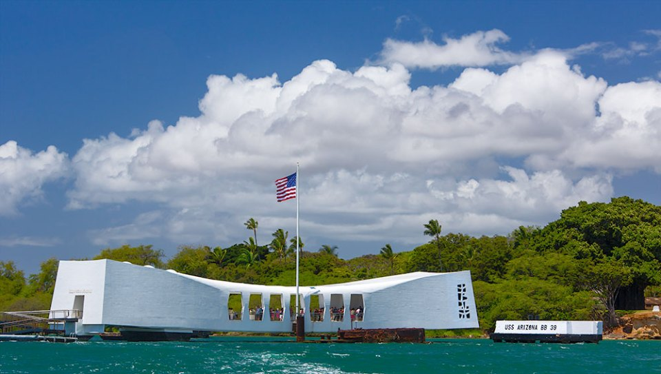 USS Arizona Approach