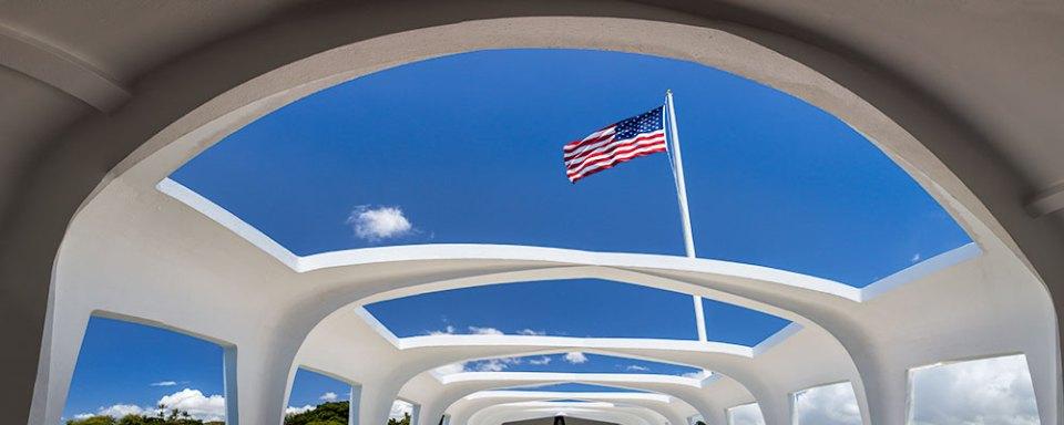 Pearl Harbor Memorial Panorama