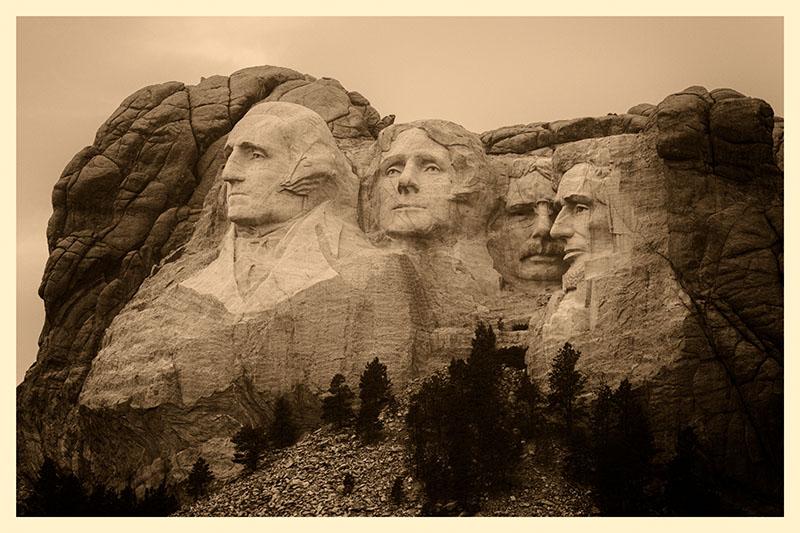 Rushmore Group Sepia