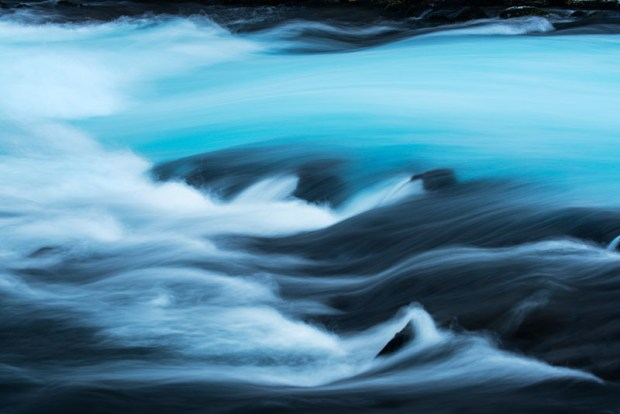 Burarfoss River Abstract