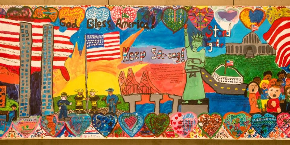 9-11 School Children's Poster