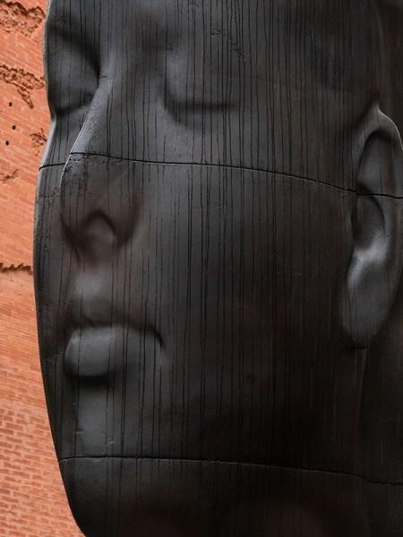 Carmela Sculpture by Jaume Plensa