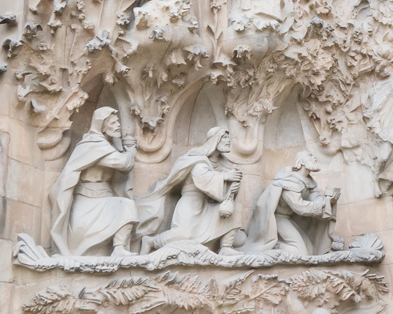 La Sagrada Familia Wise Men