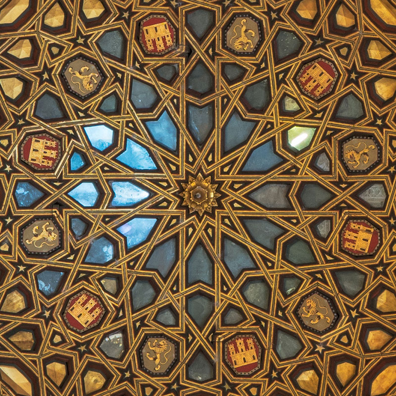 Alcazar Gold Ceiling cropped